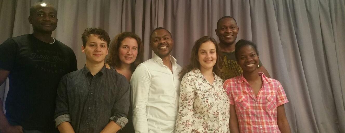 Das Team von Hope For Cameroon