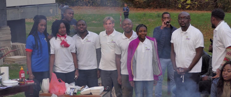 Grill Party in Bochum für den Verein Hope For Cameroon