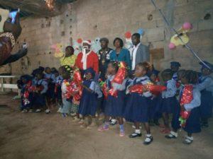 Weihnachtsfeier in Fontsa-Touala