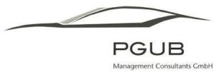 Das Logo der Firma PGUB