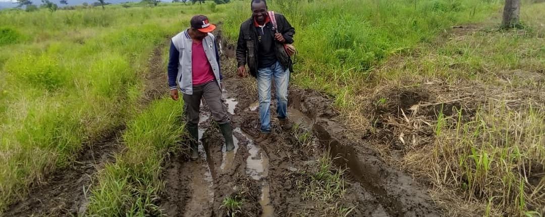 Anschaffung des Grundstücks in Santchou